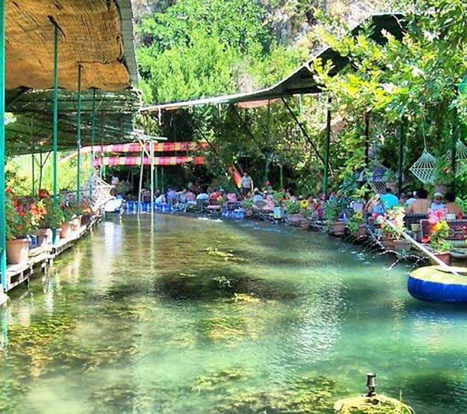 Saklikent Paradise Park Restaurant Google Search Park Restaurant Park Canal