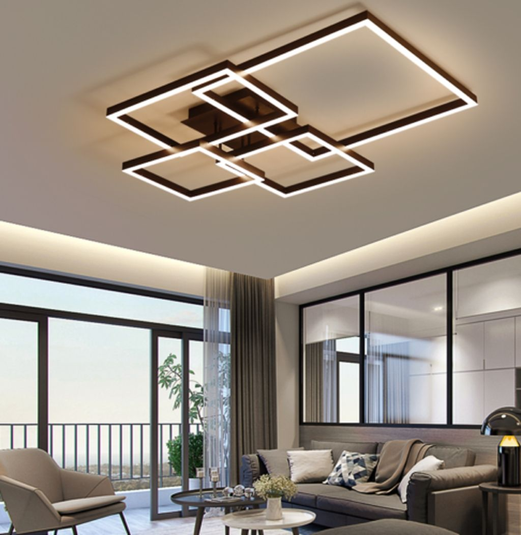 40+ Affordable Ceiling Design Ideas With Decorative Lamp #lightingdesign