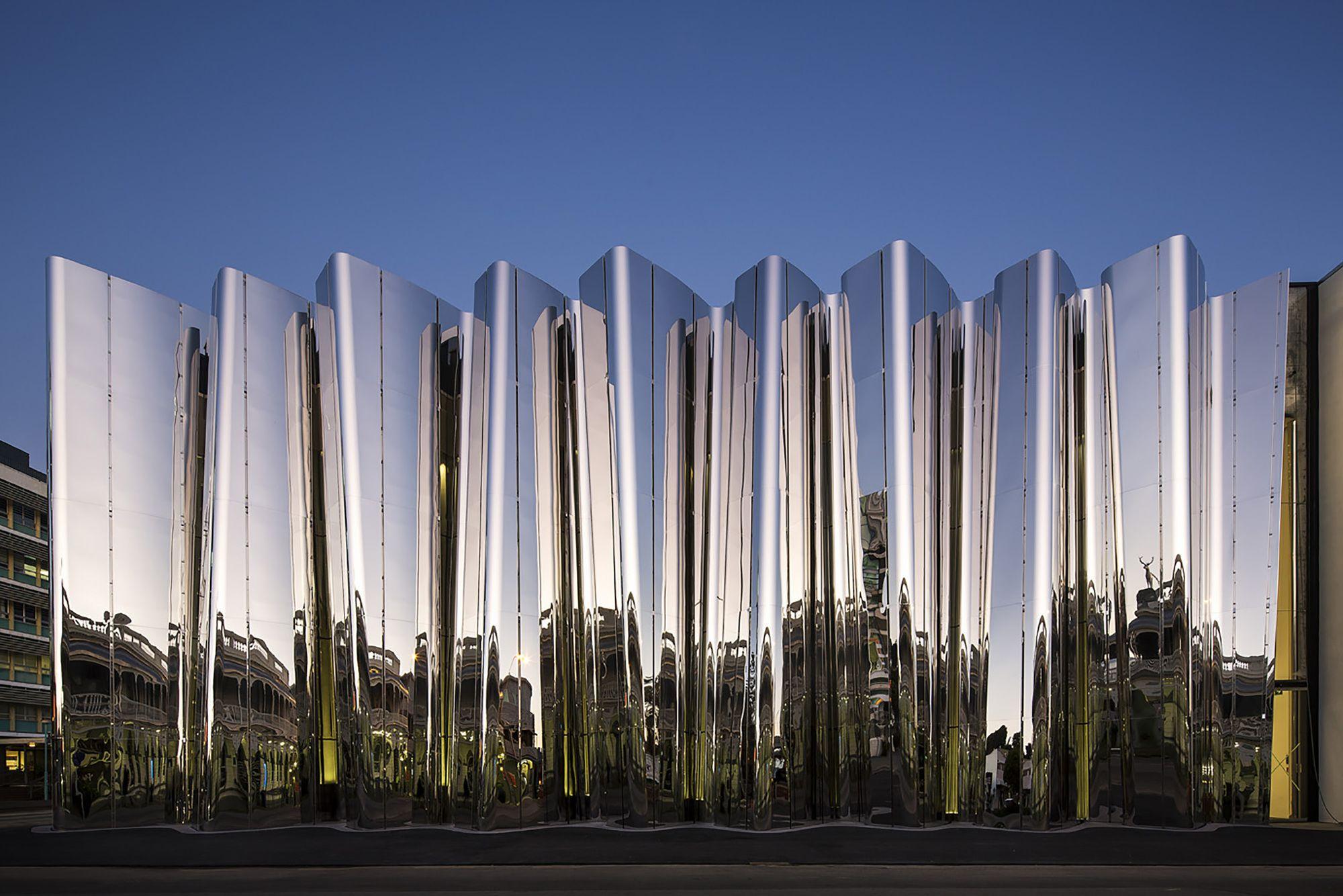 Centro Len Lye  / Patterson Associates