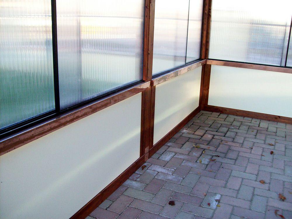 Pannelli Mobili ~ Pannelli scorrevoli frangivento in policarbonato trasparente posti