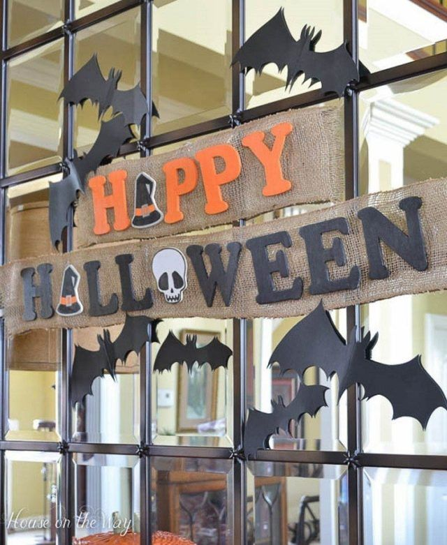 Cómo decorar un salón en Halloween. Ideas para decorar el salón en ...