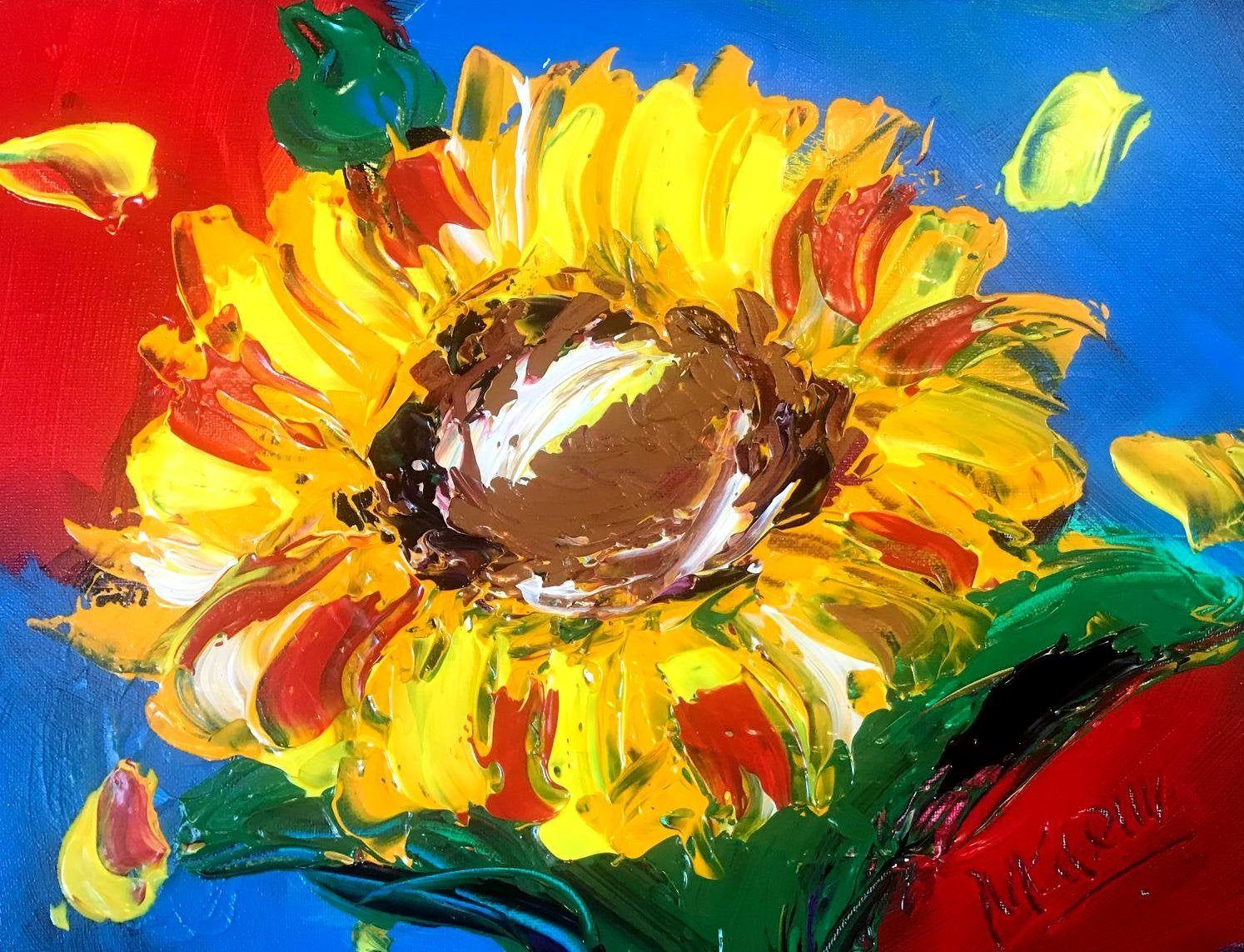Mark Kazav Fine art Modern Original Art Modernwork Palette