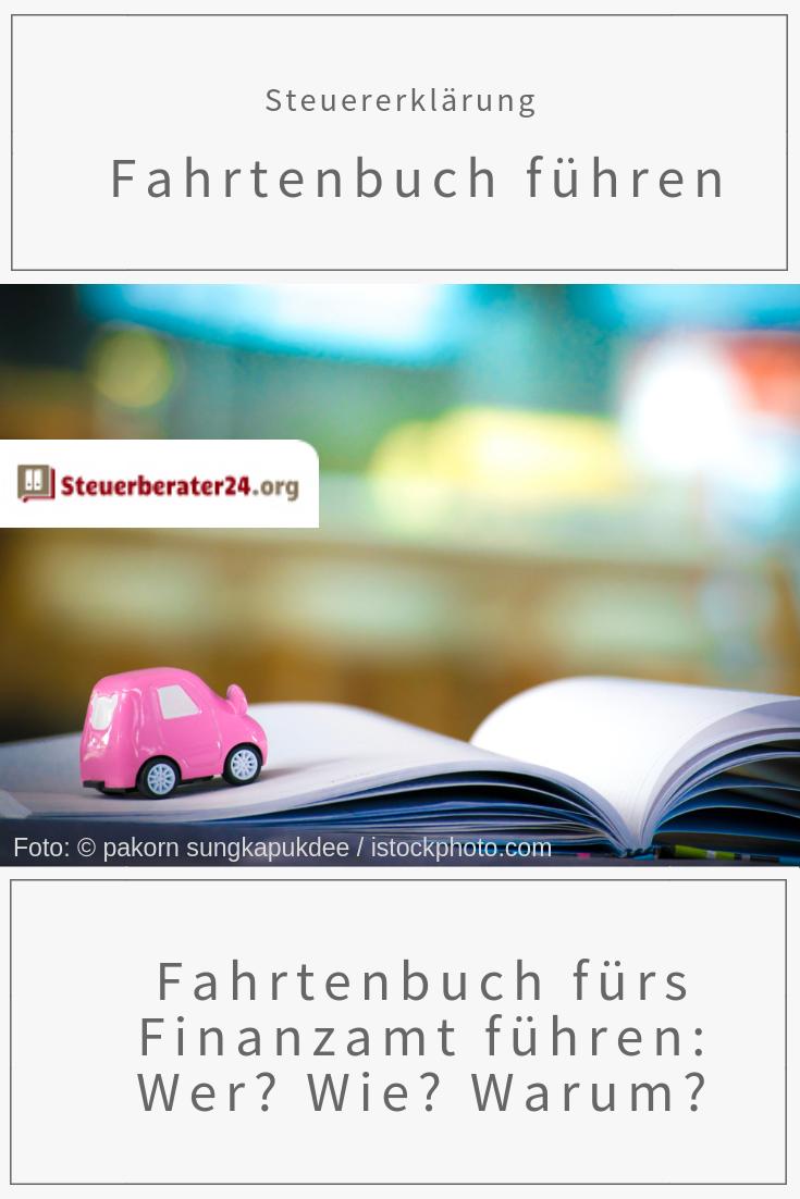 Fahrtenbuch Furs Finanzamt Fuhren Wer Wie Warum Steuern Steuernsparen Steuererklarung Firmenwagen Fahrtenbuch Finanzen Finanzamt
