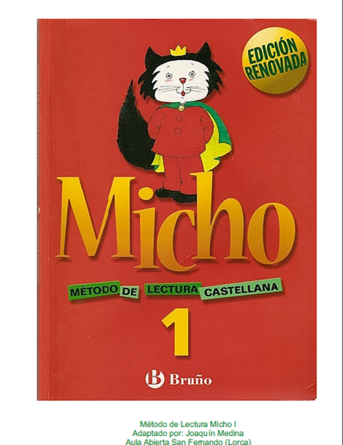 Educacion Infantil Micho Método Lectura Castellana Pdf