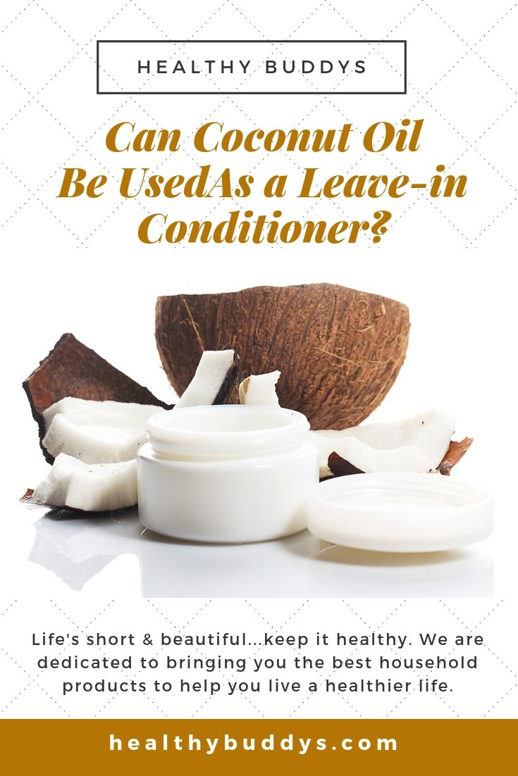 Can coconut oil be used as a leavein conditioner