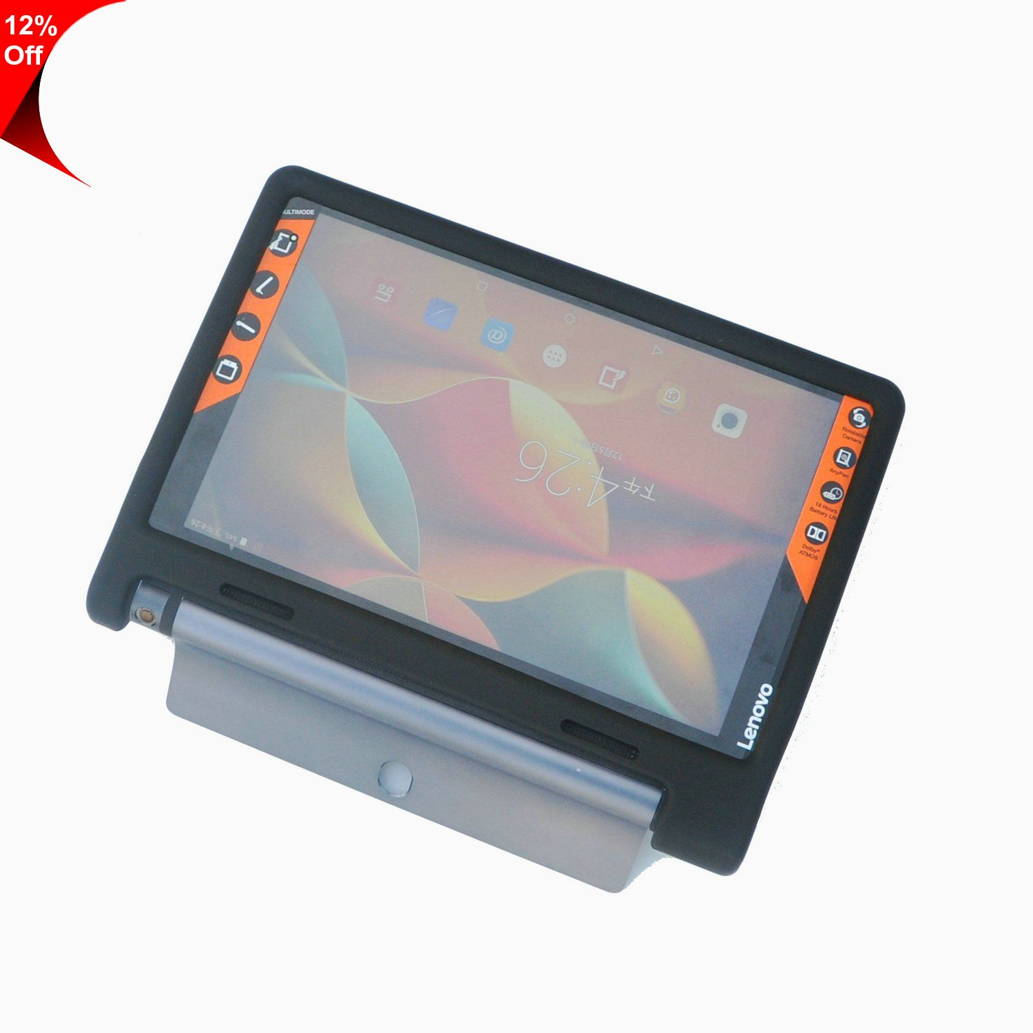 Only 14 92 Custom Factory Silicone Tablet Cover Rugged Shockproof Fda Silicone Tablet Case 10 1inch For Lenovo Yoga Tab 3 Tablet Pc
