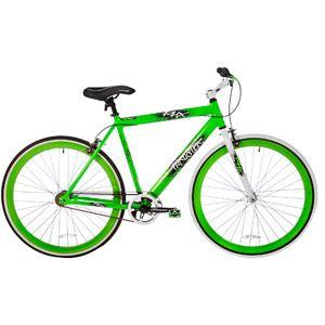 Walmart Thruster 700c Men S Fixie Bike Aluminum Green Aluminum Bike Fixie Bike Green Bike