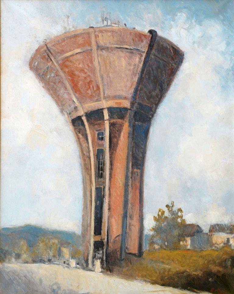 questa appartiene alla ricerca di archeologia industriale, in particolare torre d'acqua spagnola 2010
