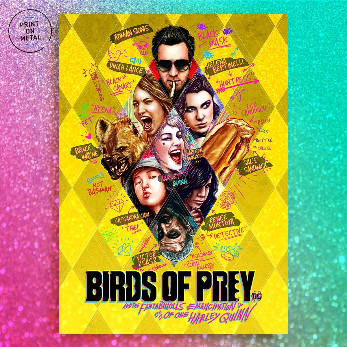 Birds Of Prey In 2020 Poster Prints Print Artist Cool Artwork