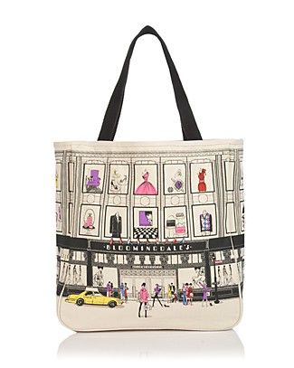 Bloomingdale's Canvas Tote Bag. | NYC Souvenirs | Pinterest ...