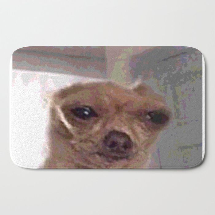 Meme Dog Bath Mat By Katikat 21 X 34 In 2020 Dog Bath Dogs