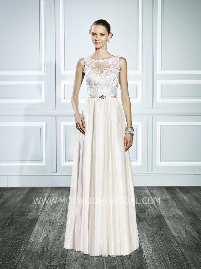 Beautiful lace Moonlight Bridal dress! | DOOR | Pinterest | Bridal ...