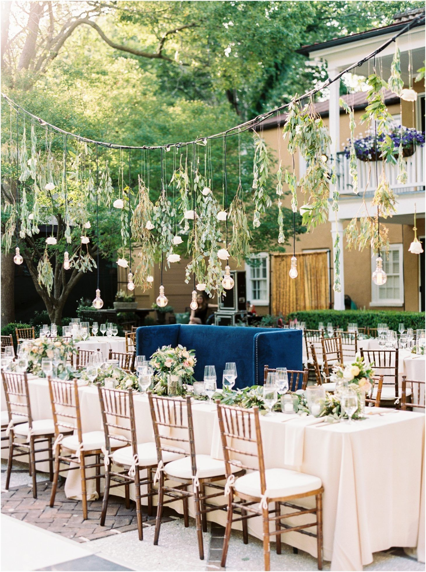 Wedding reception decor ideas love the vintage bulbs hanging over wedding reception decor ideas love the vintage bulbs hanging over the head table at the thomas bennett house in charleston junglespirit Image collections