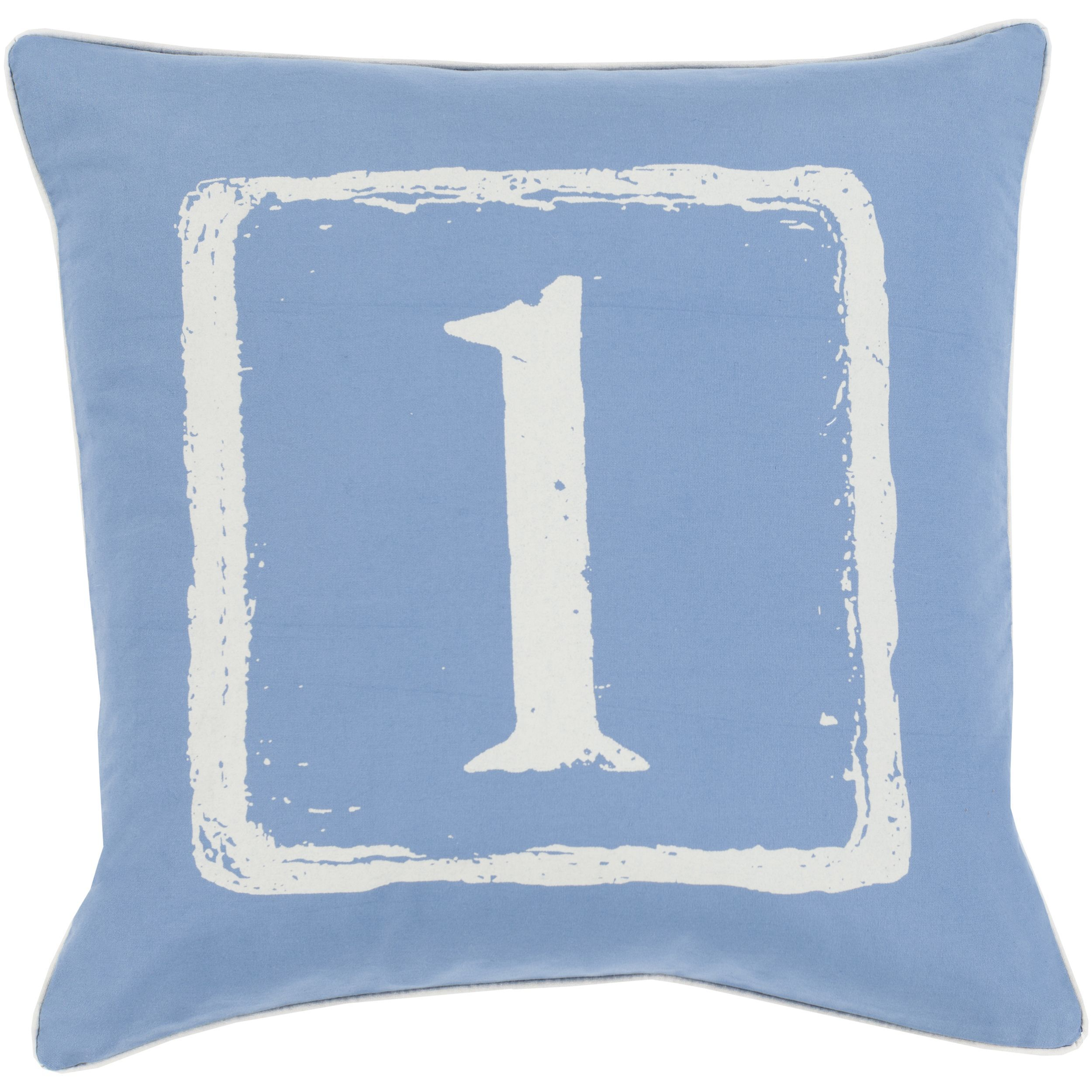 Phyllis Feather and Down Filled or Poly Filled 22-inch Throw Pillow