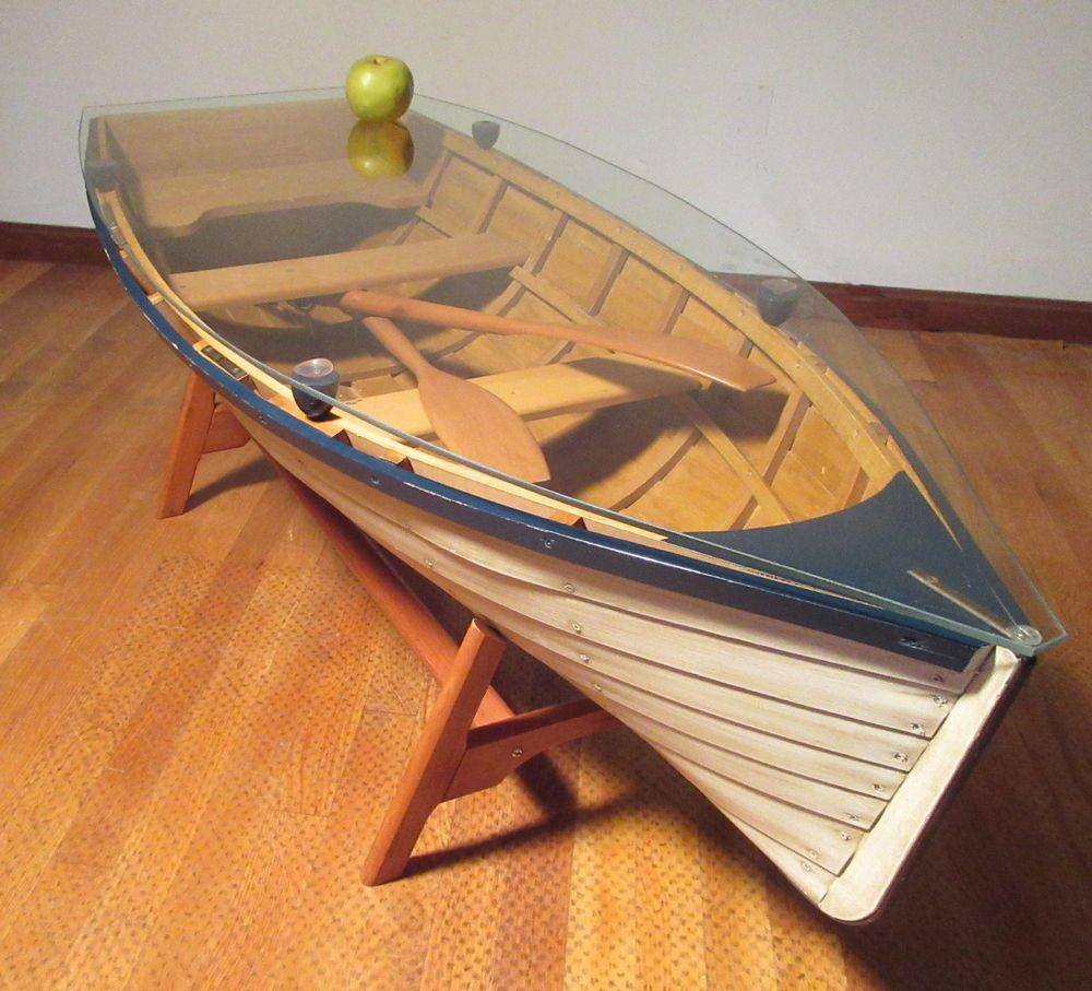 Boat Coffee Table Home Decor Furniture Furniture Decor House Interior Decor [ 1250 x 1000 Pixel ]