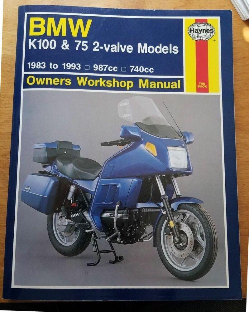 Ebay  Sponsored 1983 To 1993 Bmw K100  U0026 K75 Motorcycle