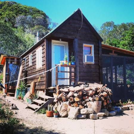 Tiny Home In Topanga Canyon Fab Craigslist Find Tiny House Swoon Artist House House