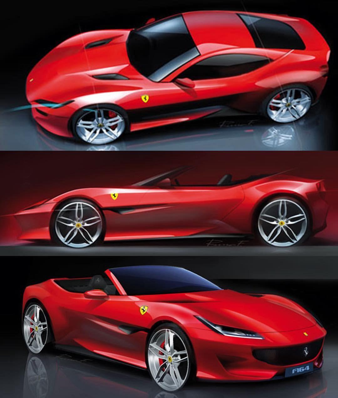 Ferrari Portofino: 668 Likes, 4 Comments