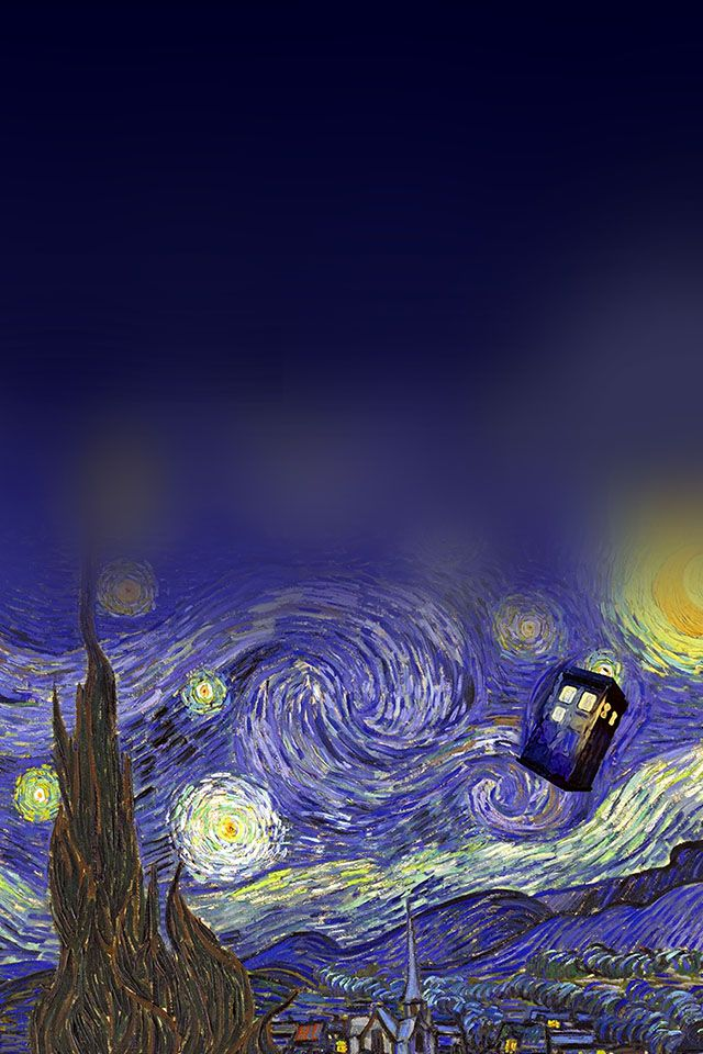 Doctor Who Art Parallax Hd Iphone Ipad Wallpaper Doctor Who