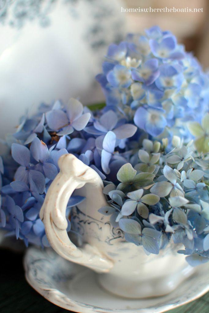flowers.quenalbertini: Flowers in transferware | HIWTBI