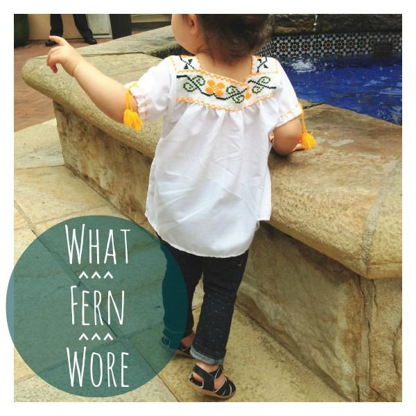 the little things we do: what fern wore: getting in touch with her roots.
