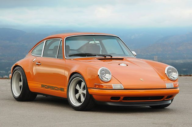 """2010 singer 911 - """"the love child of a 1967 911s, a 1973 911 carrera rs, and a 1996 993 rs"""""""