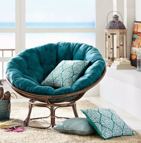 Papasan Chair Comfortable Relaxing Piece Of Furniture
