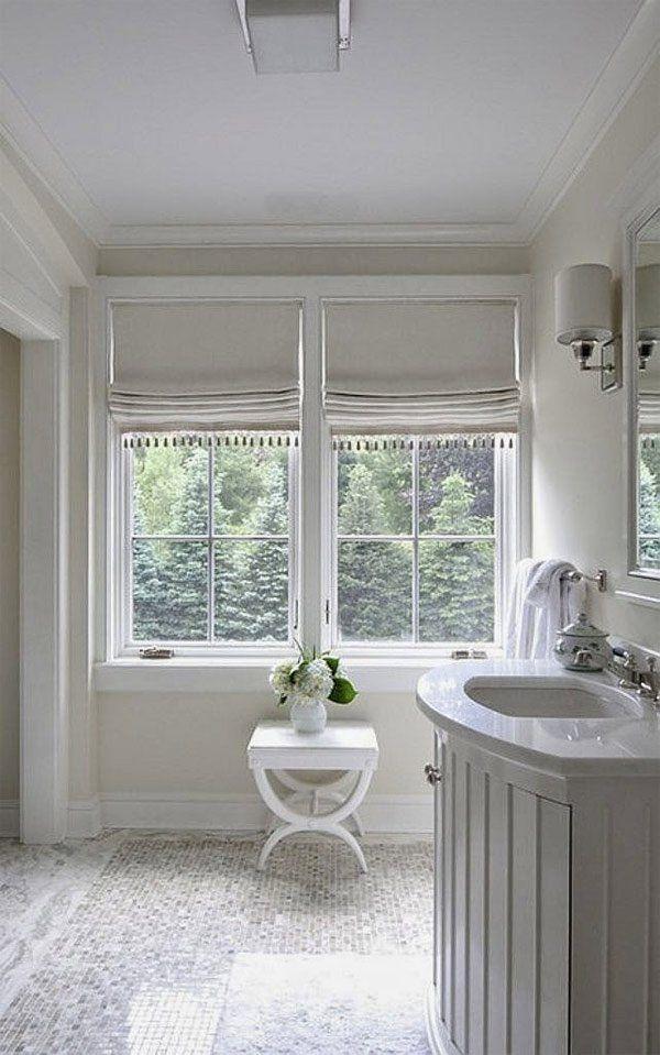 Photo of 20 Designs für die Fensterbehandlung im Bad | Home Design Liebhaber#bad #design…