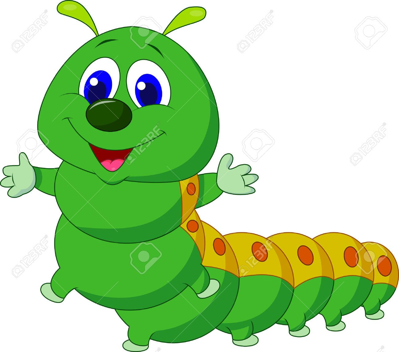 Caterpillar Cartoon Stock Photos Pictures Royalty Free