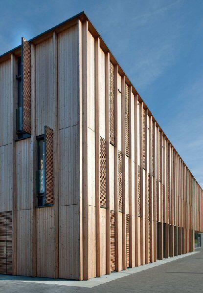Holzbauten Gent Gevel Pinterest Fachadas, Fachada de madera y - fachada madera