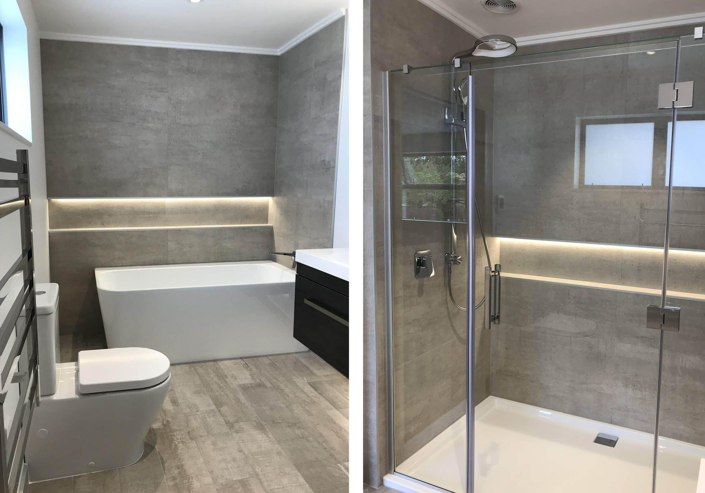 Concreto Cinza 60x120 Bathroom Floor Tiles Bathroom Floor Cabinets Best Bathroom Tiles
