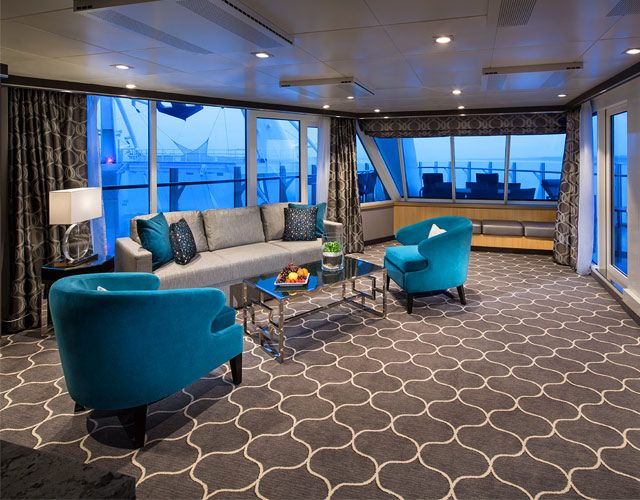 Two Bedroom Aquatheater Suite With Balcony Large On Harmony Of The Seas One Bedroom Aquatheater Suite Wit Huge Bedrooms Harmony Of The Seas Luxurious Bedrooms