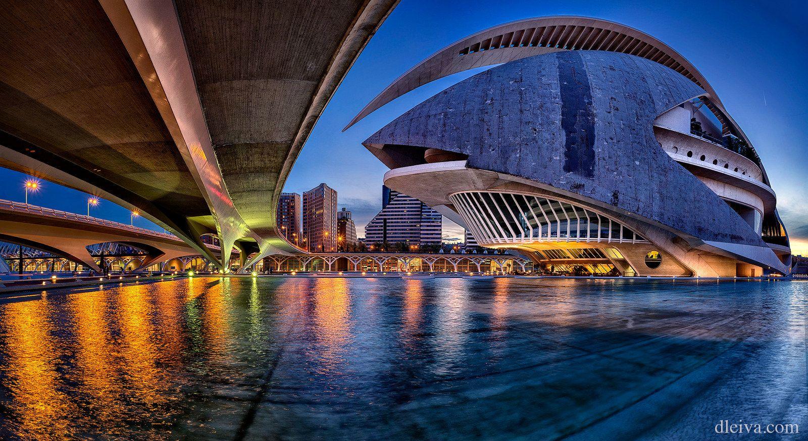 Ciudad De Las Artes Y Las Ciencias De Valencia Spain Valencia Valencia Spain