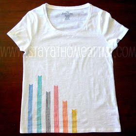 Linear Design T Shirt T Shirt Diy Shirt Designs Simple Shirts