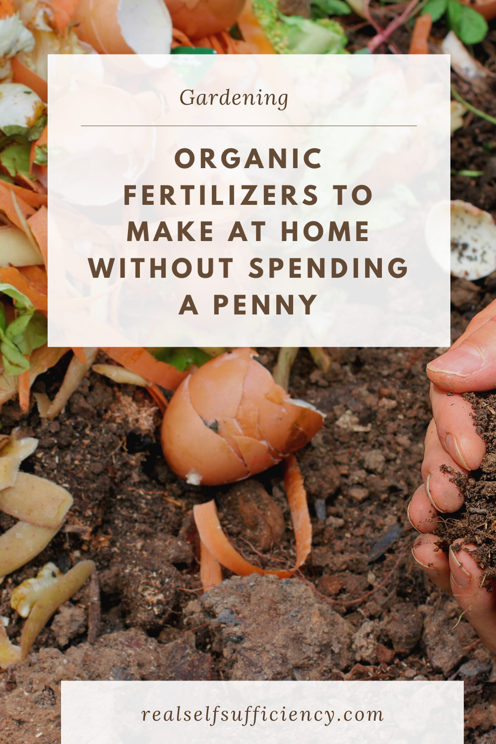 9 Organic Fertilizers To Make At Home Without Spending A Penny Organic Fertilizer Organic Fruits And Vegetables Organic Plants