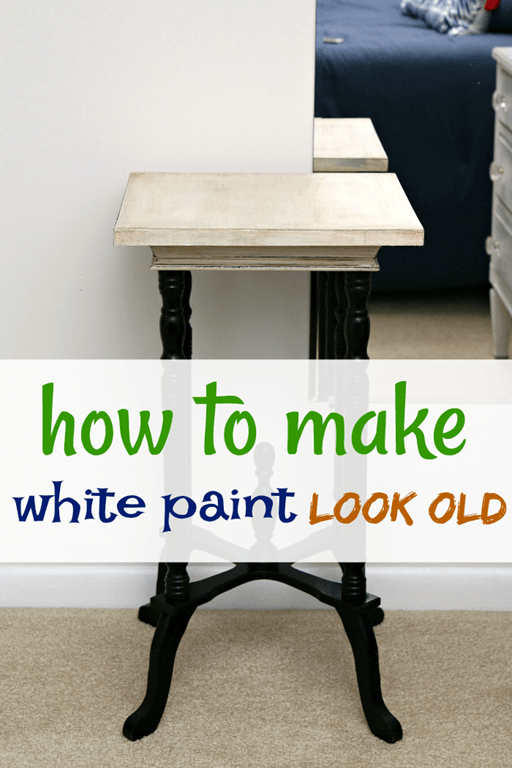 Super Easy Way To Make White Paint Look