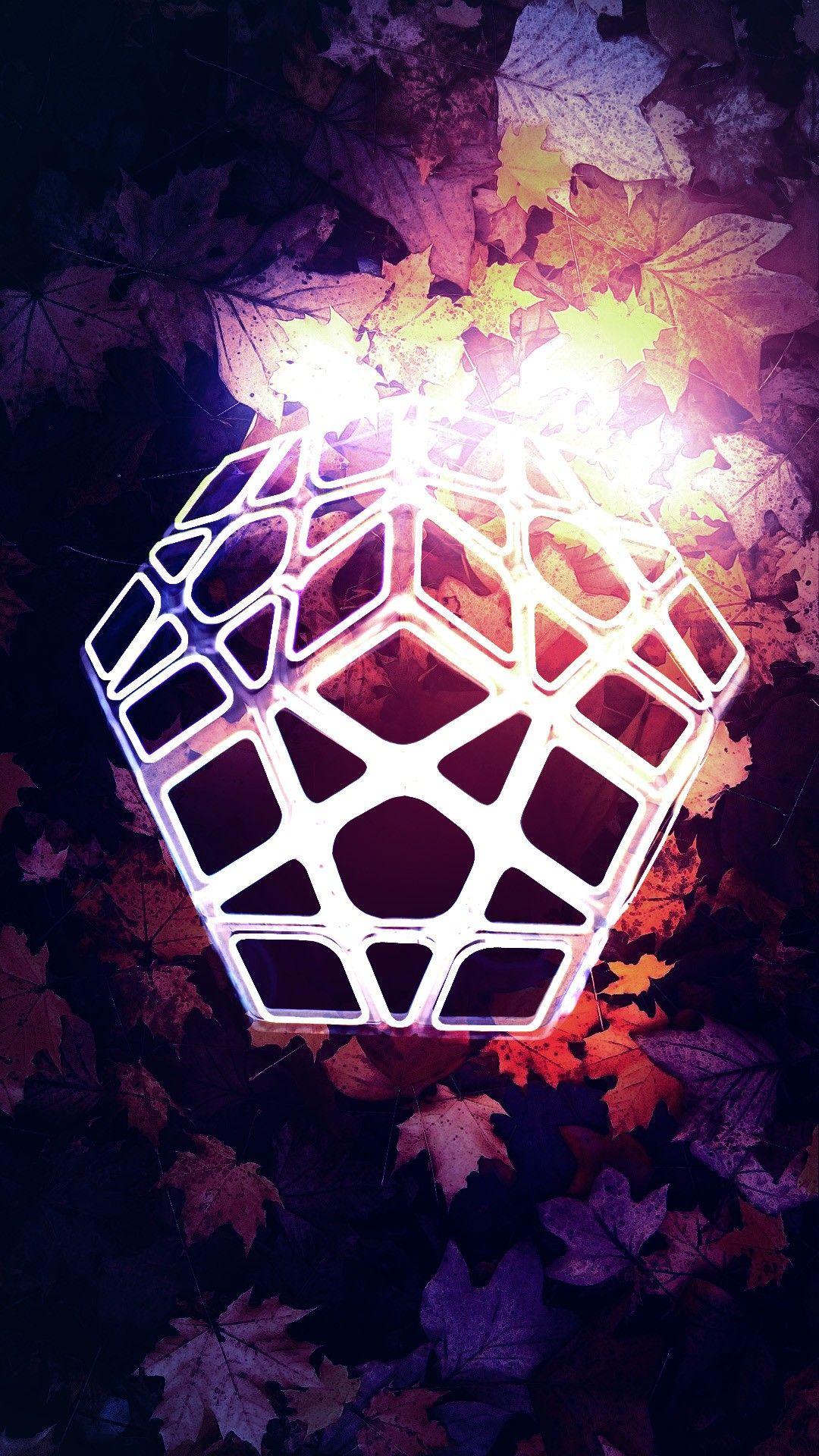 Megaminx Wallpaper Rubik Cube In 2020 Wallpaper Rubiks Cube Cube