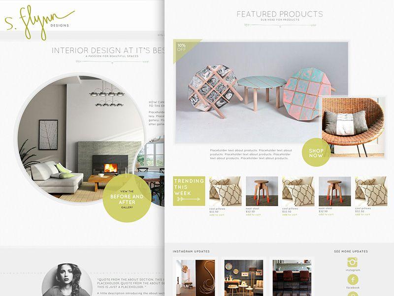 interior design website interior design website website and rh pinterest com Mobile Apps Design Interactive Native Apps Interactive Design