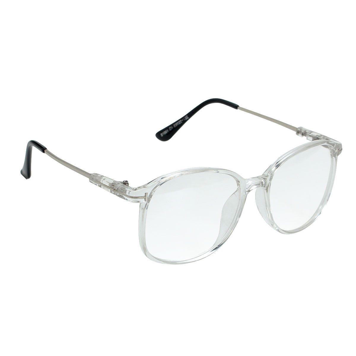 Women Transparent Eyeglasses Men Frame Full Rim Spectacles