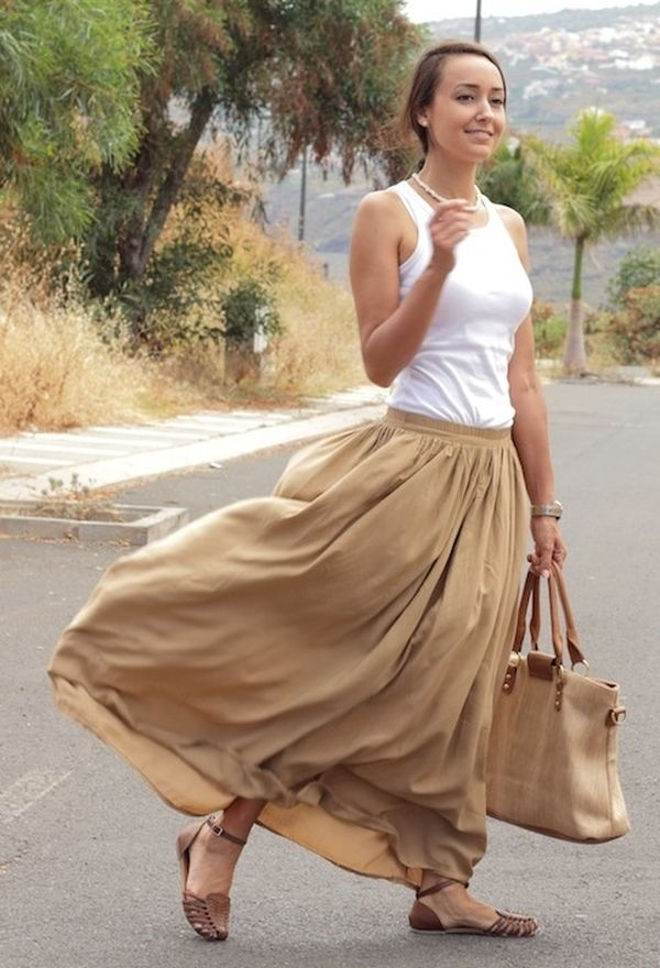 3465ebaba Zapatos para faldas largas   Calzado y faldas de moda   Ropa ...