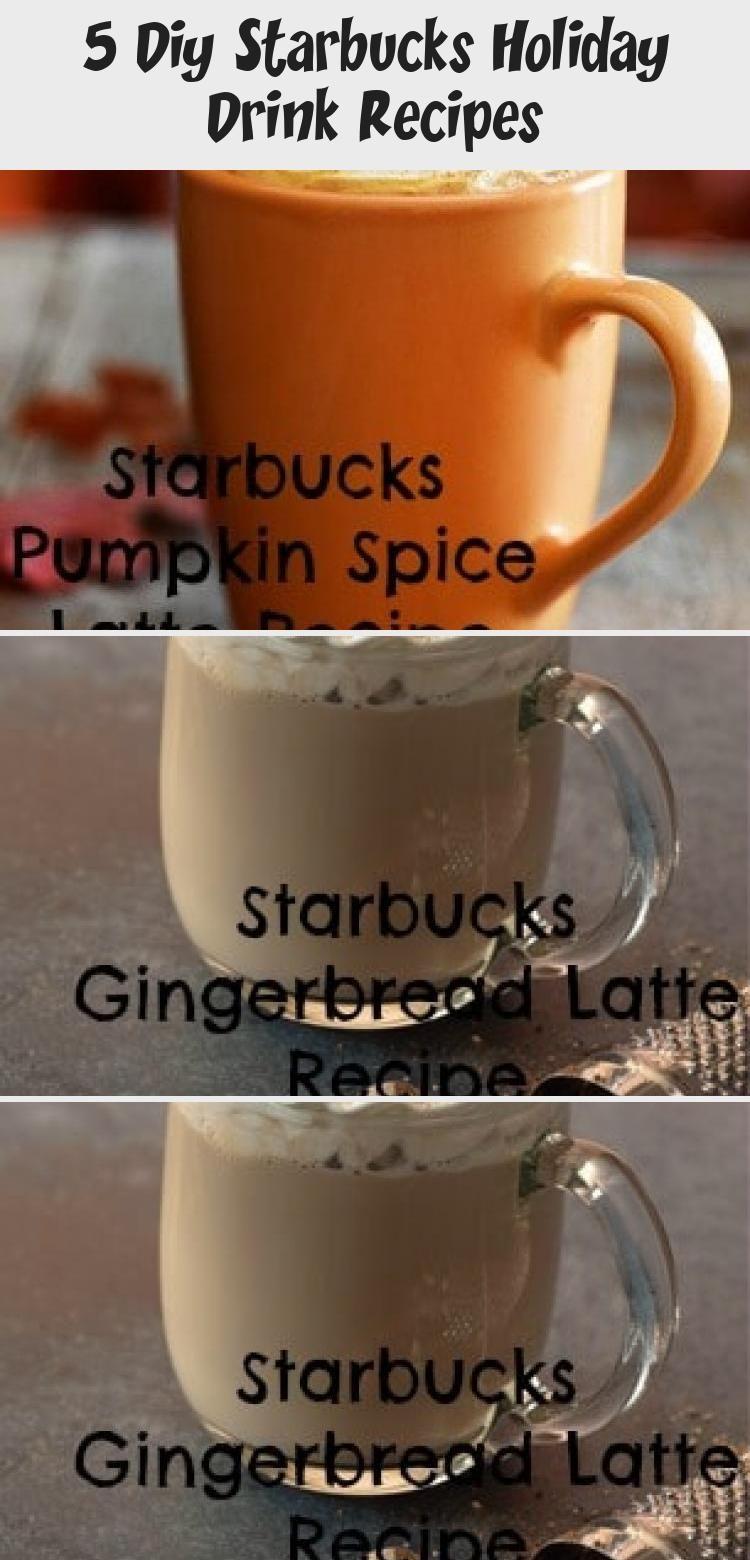 5 DIY Starbucks Holiday Drinks Peppermint Mocha, Eggnog