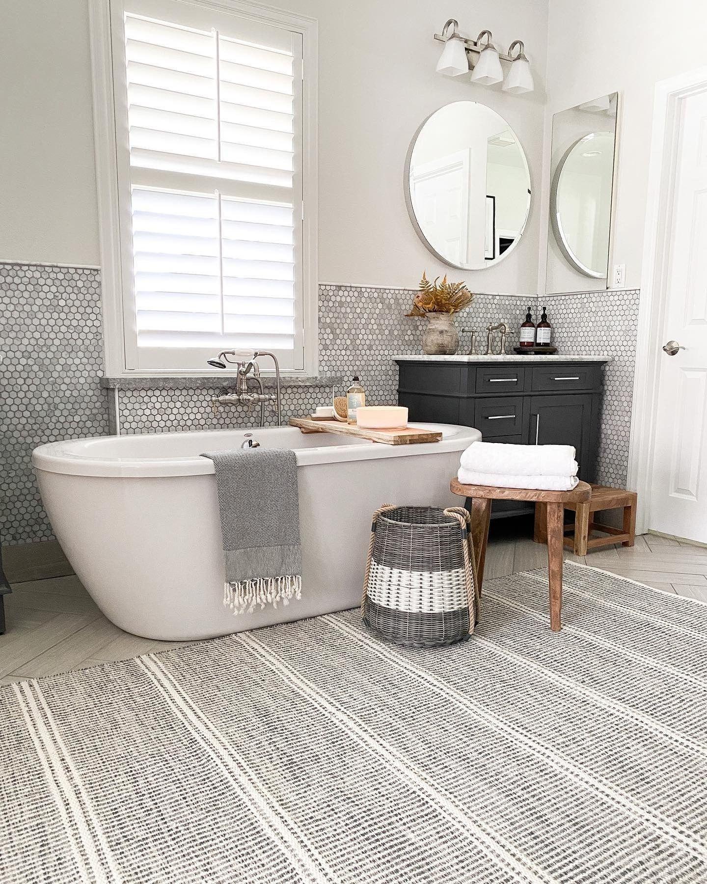 Malta Grey Woven Wool Rug Dash Albert In 2020 Home Annie Selke White Rooms