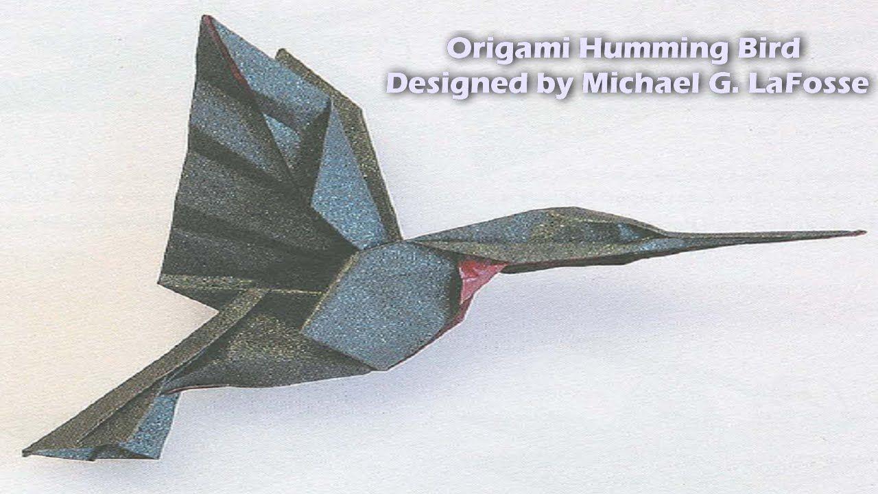 Origami humming bird hd origami graciela origami humming bird hd jeuxipadfo Image collections