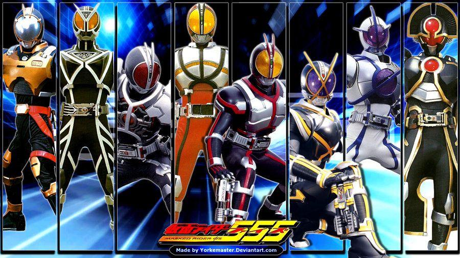 Kamen Rider 555 by YorkeMaster Topeng
