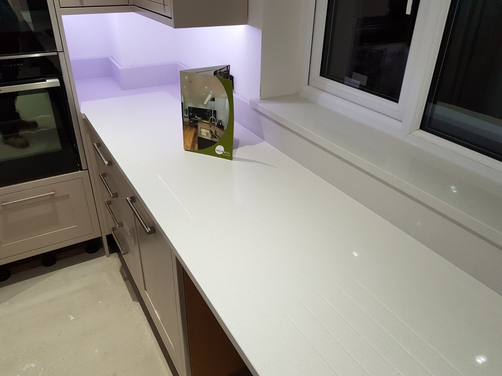 bianco de lusso quartz worktops henlow   home decor ideas ...
