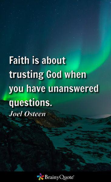 Joel Osteen Quotes Inspire Me Pinterest God Trust God And Faith