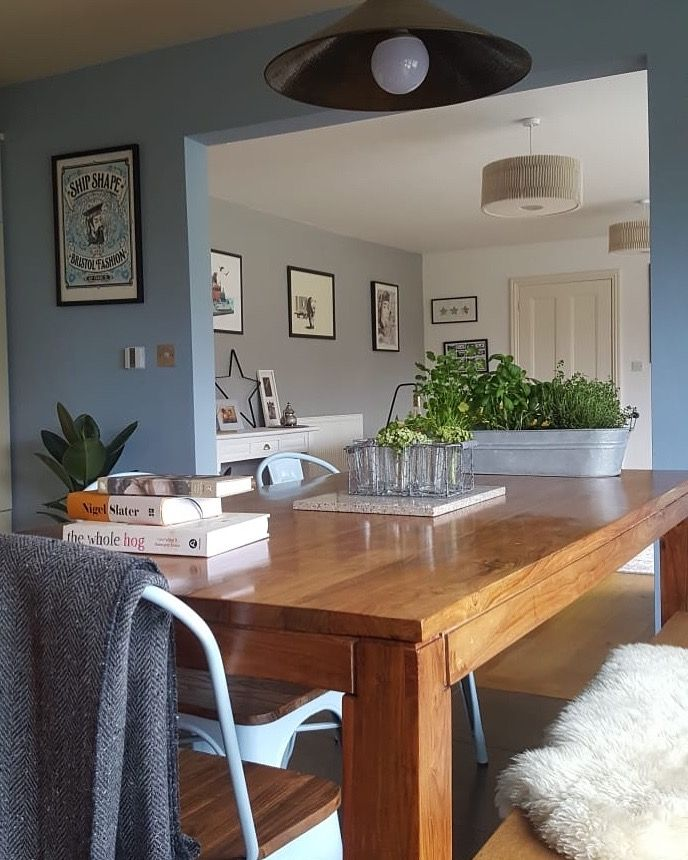 Best Kitchen Dining Room Painted In Farrow And Ball Lulworth 640 x 480