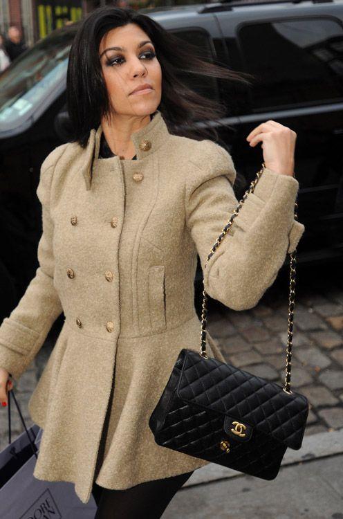 1af6e41ad146 Kourtney K Chanel Classic flap bag  4900