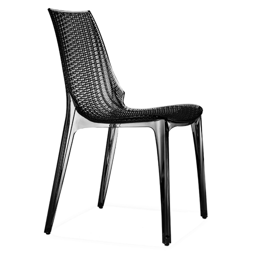 chaise polycarbonate tamia transparent fum structure polycarbonate tiss mon espace cuisine - Chaise Polycarbonate Transparente