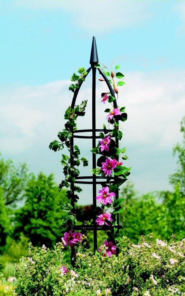 Metal Garden Obelisk Climbing Plant Obelisks Climber